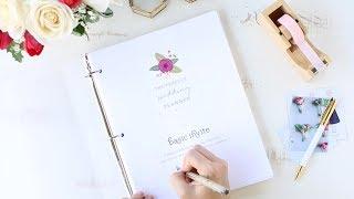 Free Printable Wedding Planner - DIY