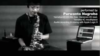 """You"" (song by Basil Valdez) - Sax Instrumental by Purwanto Nugroho"