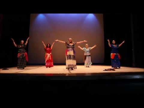 """Raj,  une danse présenté par la troupe belge """"danse rouh"""""""