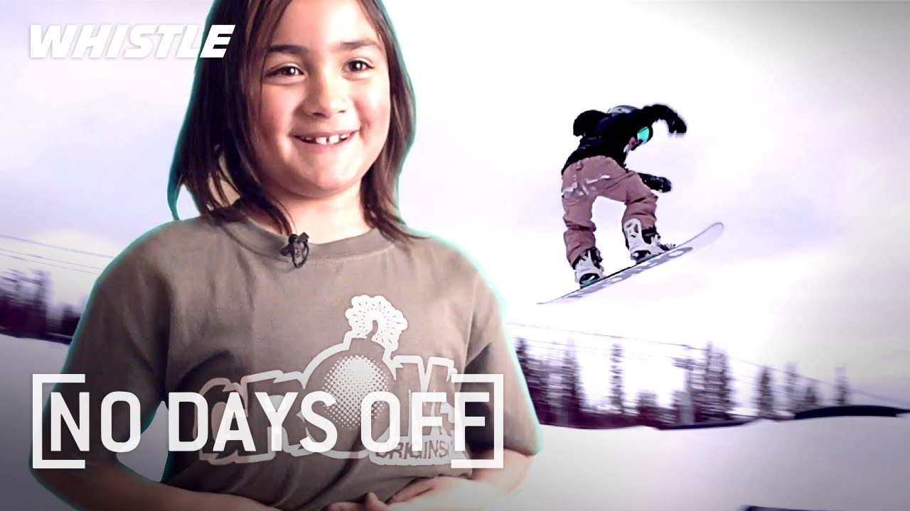 7-Year-Old Snowboarding LEGEND | NEXT Shaun White?