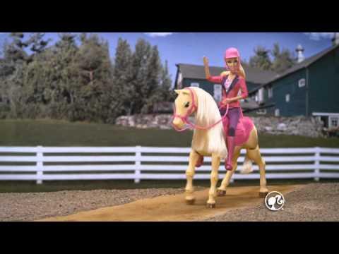 Barbie Cheval De Dressage