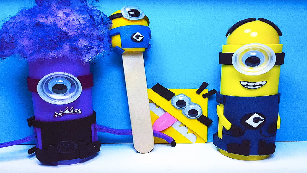 Diy how to make awesome do it yourself minions 4 easy and fun diy how to make awesome do it yourself minions 4 easy and fun crafts for kids youtube solutioingenieria Gallery