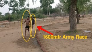 1600 mtr Indian Army Rally Race 2019