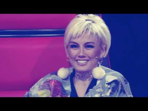 WAJIB LIHAT!!!SHARLA jombang ketika menyanyikan alunan SHOLAWAT di depan juri.