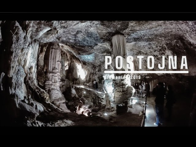 A visit in the cave of Postojna in Slovenia