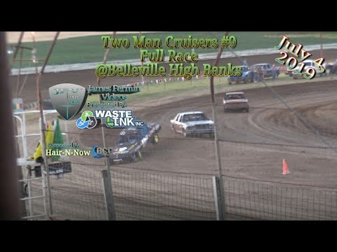 Two Man Cruisers #9, Full Race, Belleville High Banks, 07/04/19