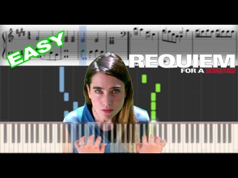 Requiem for a Dream   Sheet Music & Synthesia Piano Tutorial thumbnail