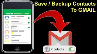 How to backup Contacts to Gmail / backup contacts for lifetime screenshot 3