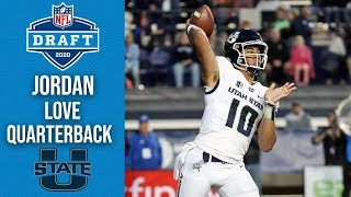 Jordan Love | Green Bay Packers | Quarterback | Utah State | 2020 NFL Draft Profile