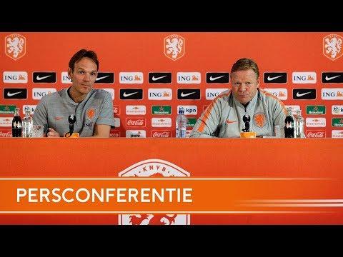 Persconferentie bondscoach Ronald Koeman