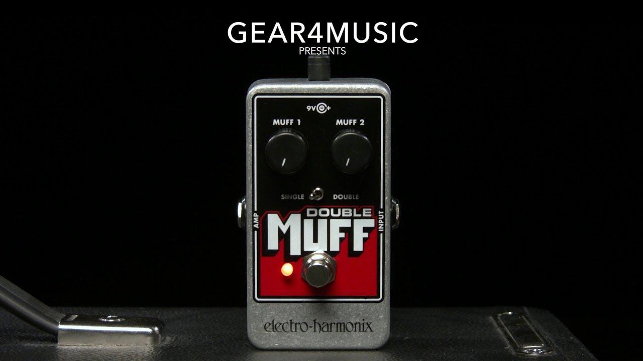 Electro-Harmonix Double Muff Fuzz Overdrive Pedal