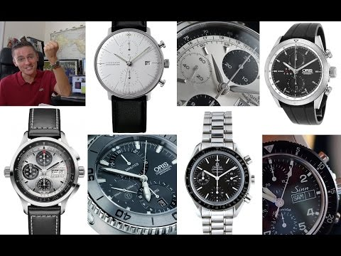 Top 10 Best Mechanical Chronograph Watches Under $2000 & My First Swatch In Over 15 Years!