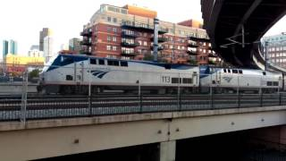 California Zephyr, RTD B-Line, and RTD A-Line at Denver Union Station