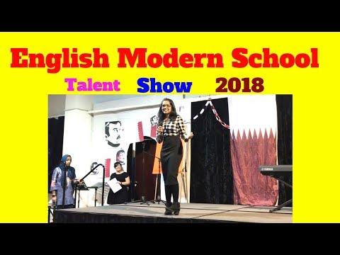 English Modern School Al Khor in Doha Qatar Talent Show 2018 ems