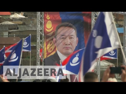 Mongolians vote for new president in first run-off election