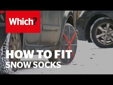 How To Fit Snow Socks - Which? Advice