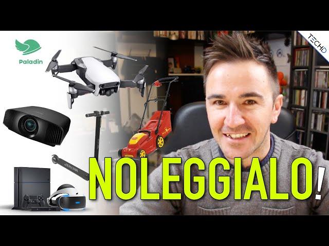 #Paladin - NOLEGGIA Droni, Fotocamere e Molto altro!
