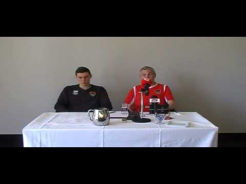 Press Conference Pre Drogheda United 15-04-2014