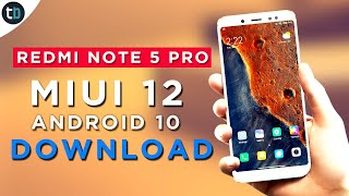 👉 Update Redmi Note 5 Pro with MIUI 12 Android 10 ROG EDITION ROM