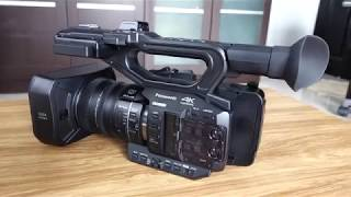 Unboxing Professional Camcoder Panasonic ag-ux90 4K