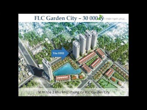 Mặt bằng căn hộ FLC Garden City Đại Mỗ