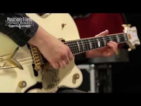 Gretsch Guitars Custom Shop Falcon '55 Relic Electric Guitar White