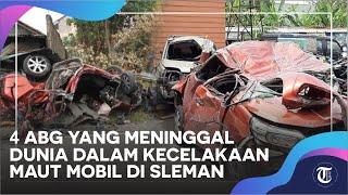 Sosok 4 ABG Yang Meninggal Dunia Dalam Kecelakaan Maut Mobil Di Sleman, Akan Pergi Wisata Ke Pantai