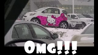 FOUND A HELLO KITTY CAR!!!