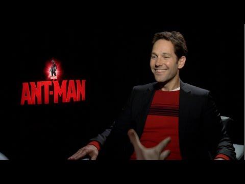 ANT-MAN interviews - Paul Rudd, Michael Douglas, Evangeline Lilly, Peyton Reed, Stoll