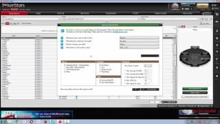Table Selection | Подбор столов на ПокерСтарз | EasySeat