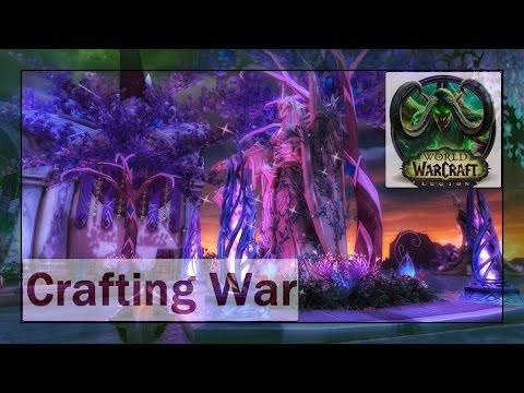 Crafting War Insurrection Suramar Campaign Gameplay Walkthrough Karazkhan Patch (7.1)