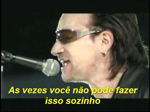 U2 Sometimes You Can't  (live brooklin) -legenda em português BR
