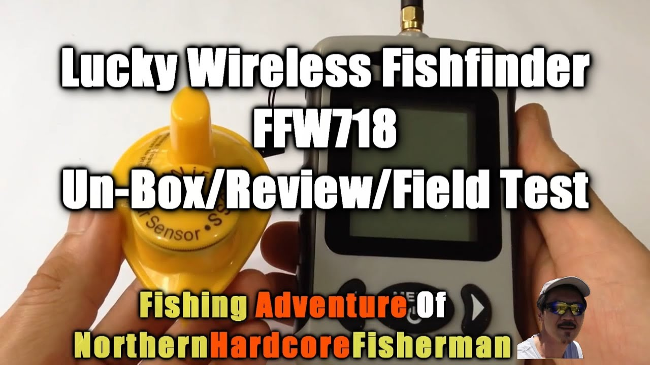 lucky wireless fishfinder ffw718 unpacking, review and field test, Fish Finder