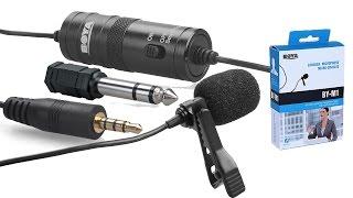 Купил новый микрофон BOYA BY-M1 Обзор и тест петличного микрофона(, 2016-09-21T14:10:31.000Z)