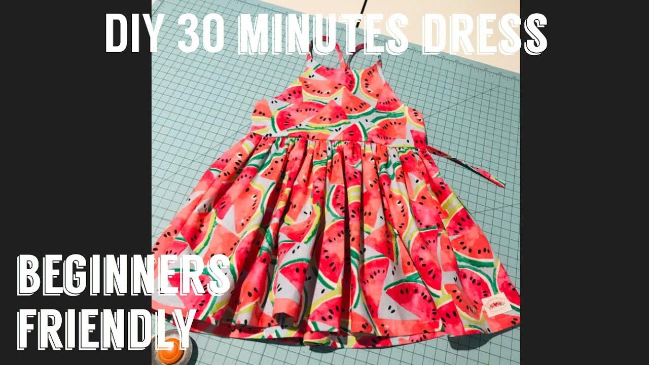 Download EASY Little Girls dress or top ( Little Lizard King Pattern)