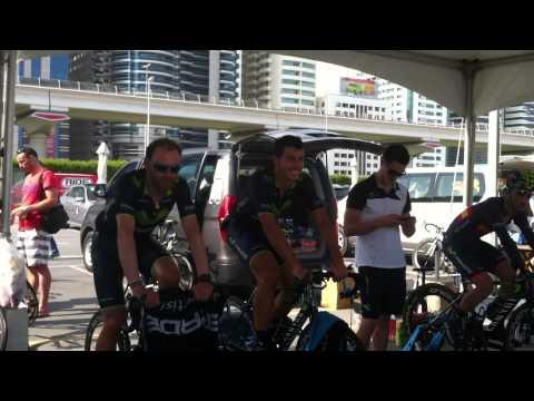 Taylor Phinney wins 2014 Dubai Tour 1st stage
