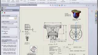SolidWorks: Assembly Drawing: Part II