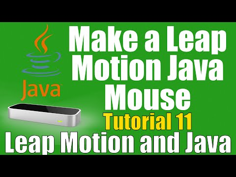 How To: Make a Java Leap Motion Mouse