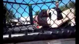 Adam Ballard's First Fight! 8-28-10
