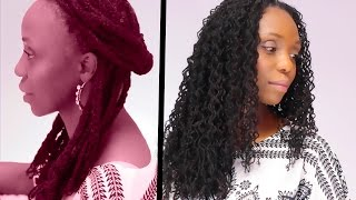 Sisterlocks Style Box Braid Waves
