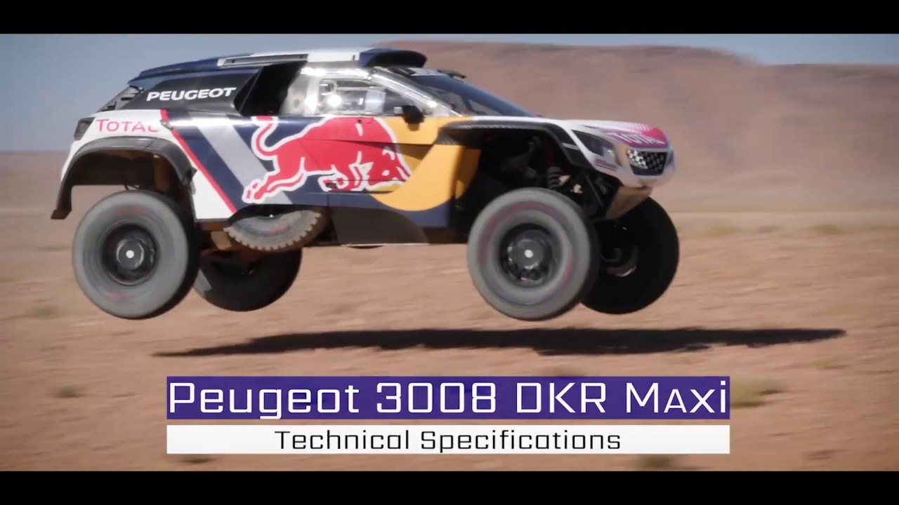 rally dakar 2018 la bestia peugeot 3008 dkr maxi youtube. Black Bedroom Furniture Sets. Home Design Ideas
