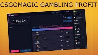 5X PROFIT!? - CSGOMAGIC (CSGO Gambling)