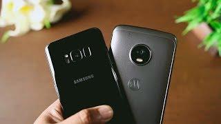 Moto G5 Plus vs Samsung Galaxy S8 Camera Comparison