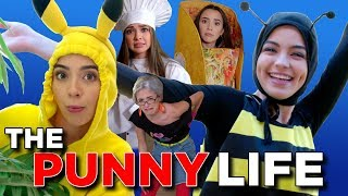 Download The Punny Life 4 - The BEST HALLOWEEN COSTUME PUNS  - Merrell Twins Mp3 and Videos