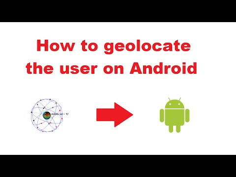 Tutorial - geolocation on Android