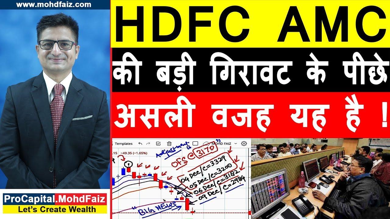 hdfc amc share price
