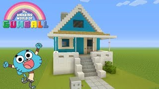 Minecraft Tutorial: How To Make Gumballs House