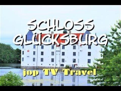 Rundgang Um Das Schloss Glücksburg (Schleswig-Holstein) Deutschland Reisebilderbuch Jop TV Travel