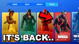 "How to Unlock ""MAX OMEGA SKIN"" in Season 8! Fortnite Season 8 OMEGA LIGHTS CHALLENGES RETURN Leaked!"