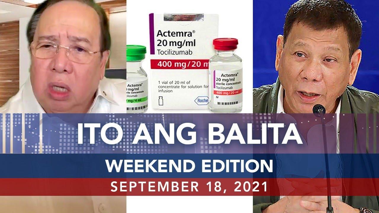 Download UNTV: ITO ANG BALITA WEEKEND EDITION | September 18, 2021